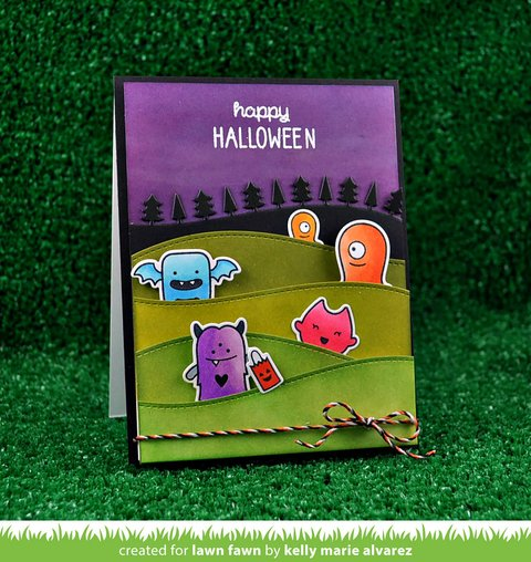 LAWN STAMPS MONSTER MASH en internet
