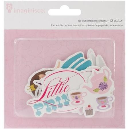 Little Princess Cardstock Die-Cuts 12/Pkg Brown Hair Princess, 4 Shapes/3 Each (D) en internet