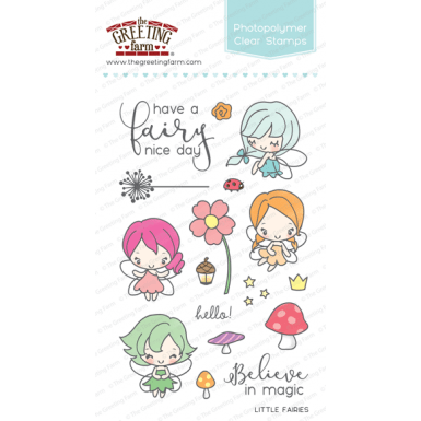 THE GREETING FARM CLEAR STAMPS LITTLE FAIRIES - comprar online