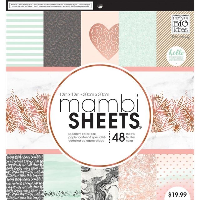 New! Mambi Single-Sided Paper Pad 12