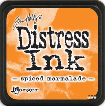 Distress Ink Pad Small Spiced Marmalade - comprar online