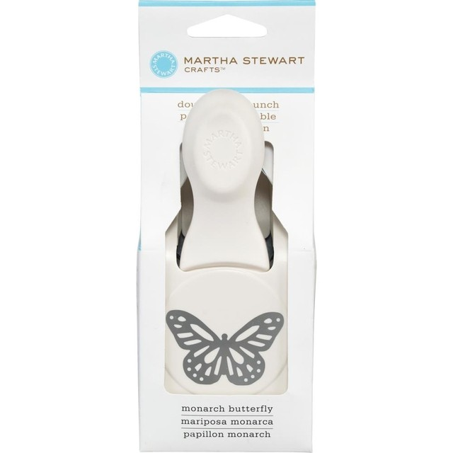 Martha Stewart Large Double Punch Monarch Butterfly, 1.25