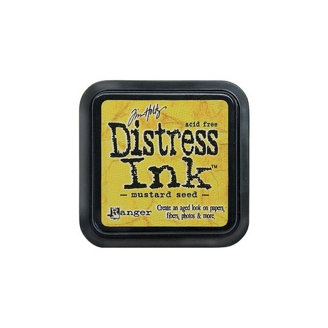 Distress Ink Pad Mustard Seed