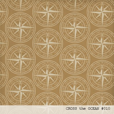LAURA BAGNOLA  - CROSS THE OCEAN - PACK DE 12 PAPELES 30X30 CM - tienda online