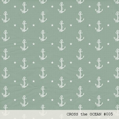 Imagen de LAURA BAGNOLA  - CROSS THE OCEAN - PACK DE 12 PAPELES 30X30 CM
