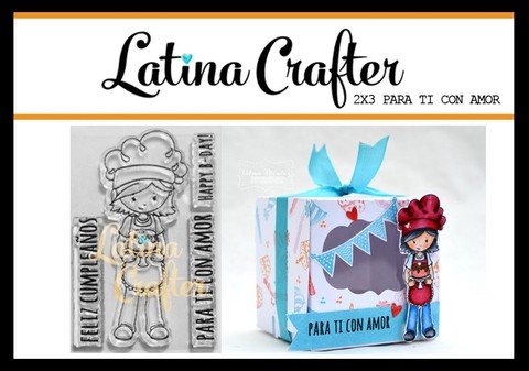 CLEAR STAMP PARA TI CON AMOR