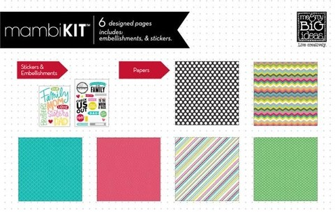 Mambi Kit Scrapbook Kit