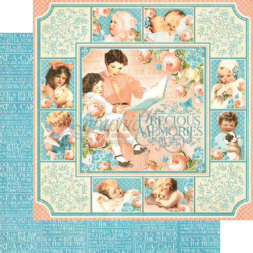 Precious Memories Graphic 45 Double-Sided Paper Pad 8