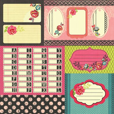 PRIMA MARKETING ROSARIAN- PACK DE 16 PAPELES 30x30 CM - Laura Bagnola
