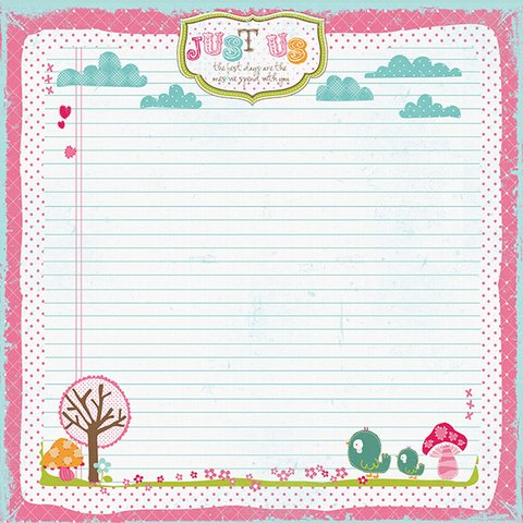 PRIMA MARKETING SO CUTE GIRL - PACK DE 8 PAPELES 30X30 CM - tienda online