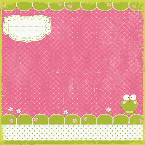 Imagen de PRIMA MARKETING SO CUTE GIRL - PACK DE 8 PAPELES 30X30 CM