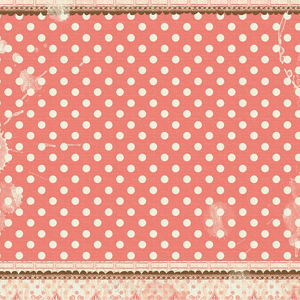 PRIMA MARKETING STRAWBERRY KISSES - PACK DE 12 PAPELES 30X30 CM - TheCraftyShop