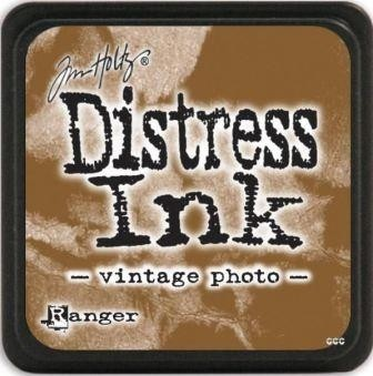 Distress Ink Pad Small Vintage Photo en internet