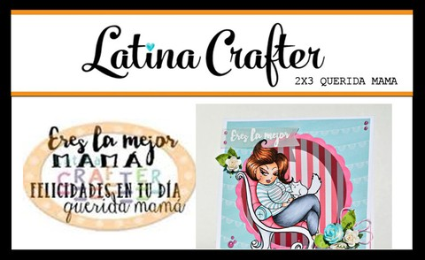 CLEAR STAMP QUERIDA MAMA