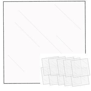 We R FUSEables Fuse Clear Sheets  / Folios x10 Unidades Para Photofuse - TheCraftyShop