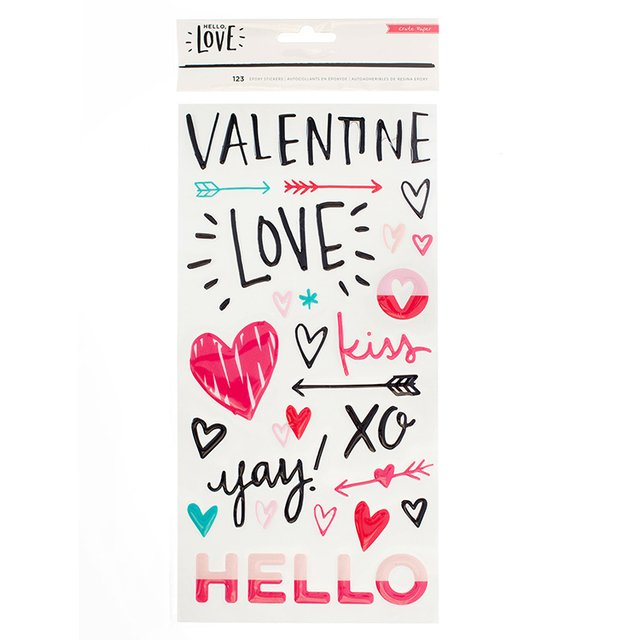 THICKERS - CP - HELLO LOVE - EPOXY - PHRASES - comprar online
