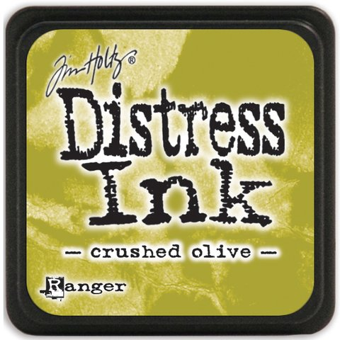 Distress Ink Pad Small Crushed Olive - comprar online