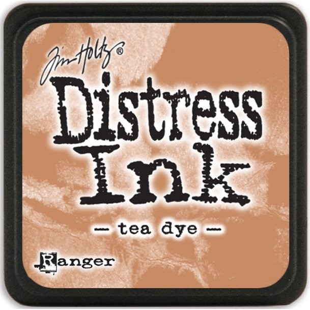 Distress Ink Pad Small Tea Dye - comprar online