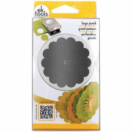 EK Large Punch Scallop Circle 2.25