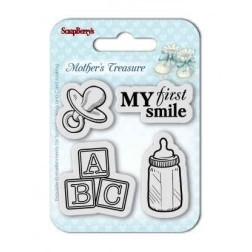 ScrapBerry's Mother's Treasure Clear Stamps  / Sellos ScrapBerry´s Tesoro de Madre
