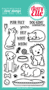 "Avery Elle Clear Stamp Set / Sellos Avery Elle ""Furry Friends"" - comprar online"