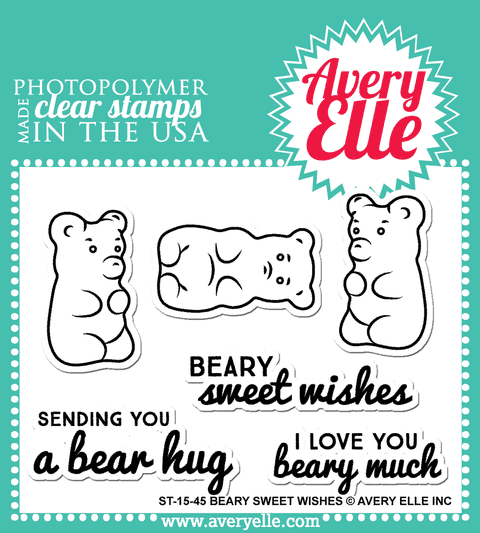 Avery Elle Clear Stamp Set / Conjunto Sellos Avery Elle
