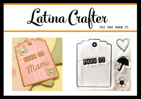 CLEAR STAMP TAG PARA TI