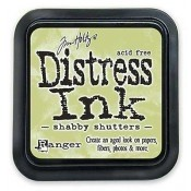 Distress Ink Pad Small Shabby Shutters