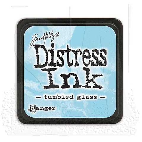 Distress Ink Pad Small Tumbled Glass