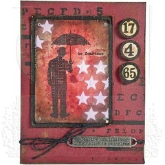 "Tim Holtz Layered Stencil 4.125""X8.5"" Stars en internet"