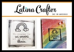 Latina Crafter Clear Stamp Sellos UN ARCOIRIS
