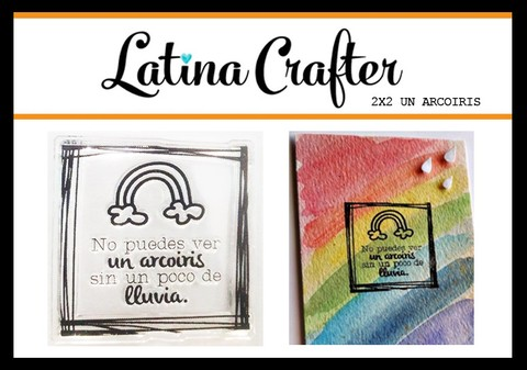 CLEAR STAMP UN ARCOIRIS