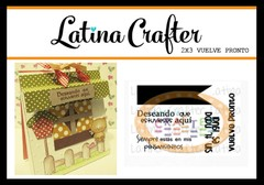 Latina Crafter Clear Stamp Sellos VUELVE PRONTO
