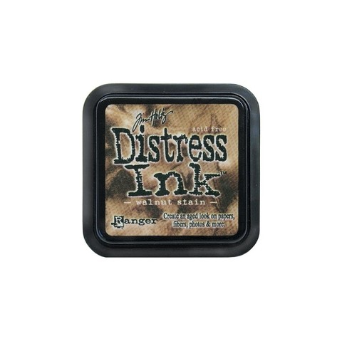 Distress Ink Pad Walnut Stain