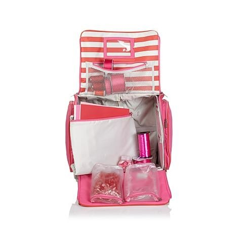 We R Crafter Bag Pink 360° / We R Valija para Manualidades Rosa 360° - TheCraftyShop