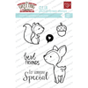 THE GREETING FARM CLEAR STAMPS WOOD FRIENDS - comprar online
