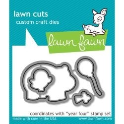 Lawn Fawn Cuts Custom Craft Die Year 4 / Cortante Cuatro Años