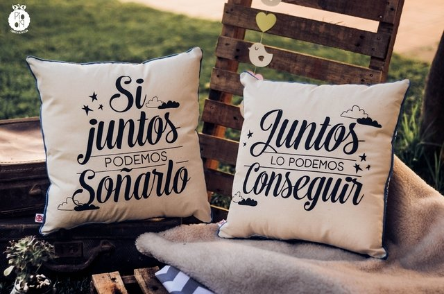 Almohadones Dobles