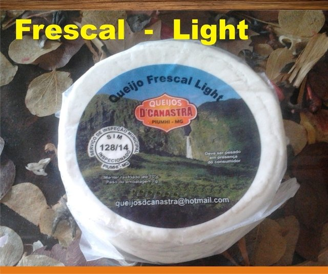 Queijo Canastra  Frescal - LIGHT