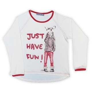 Remera Anita Fun Crudo