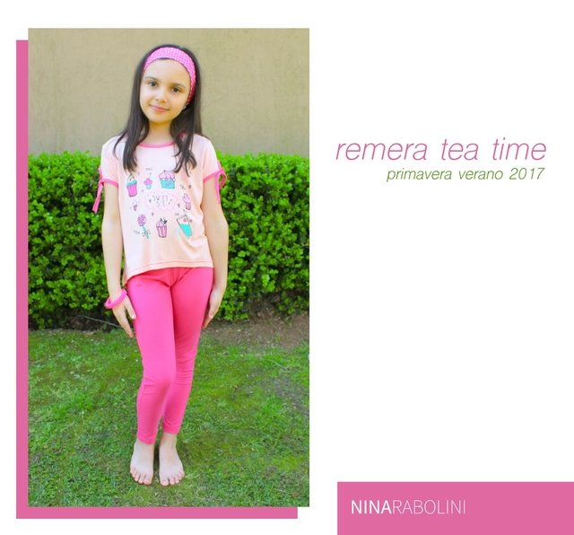 Remera Anita Tea Time en internet