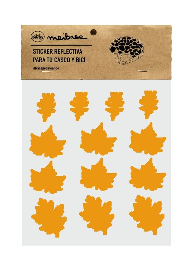STICKER DECORATIVA QUE BRILLA EN LA OSCURIDAD / YELLOW AUTUMN - comprar online