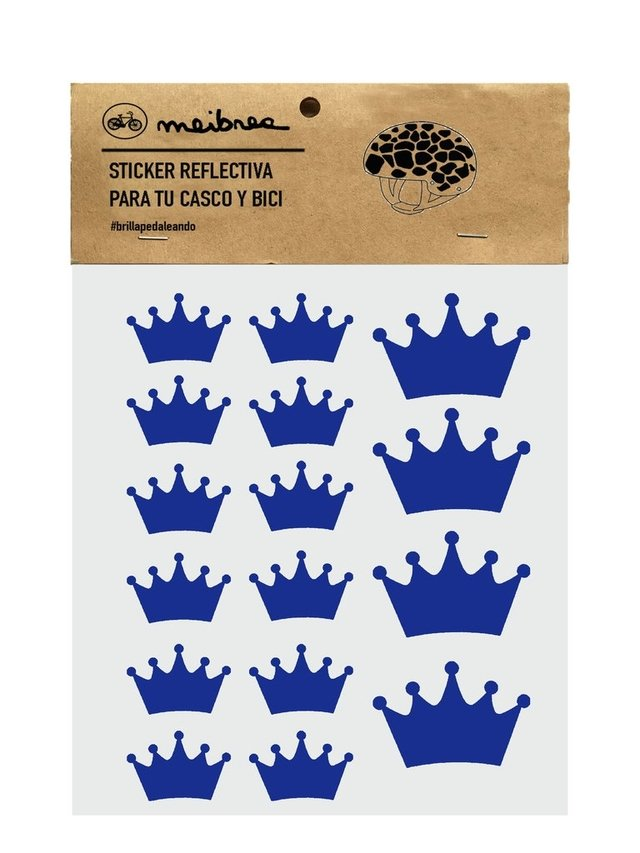 Sticker Reflectiva QUEEN BLUE - comprar online