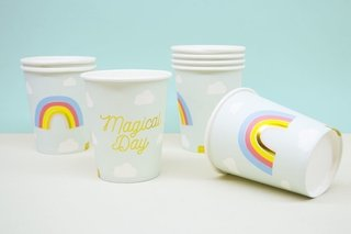VASOS MAGICAL DAY X 10U.