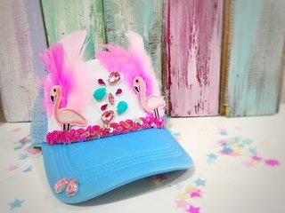 GORRA FLAMINGO PARTY