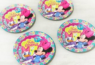 PLATOS MINNIE PINK X8