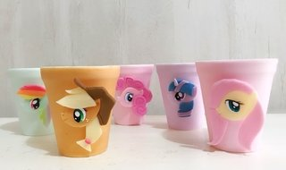 VASO PORCELANA MY LITTLE PONY