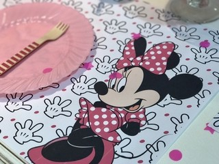 Individuales Minnie x 12 unidades