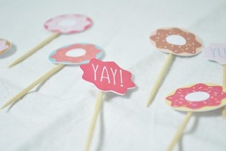 Cupcake Toppers Donuts x12u.