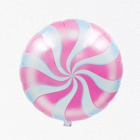 GLOBO 18'' LOLLIPOP ROSA